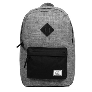 Black Friday 2020 | Herschel Sac à dos Heritage Mid Volume raven crosshatch vente