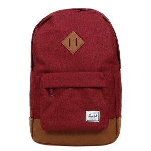 Black Friday 2020 | Herschel Sac à dos Heritage Mid Volume winetasting crosshatch/tan vente