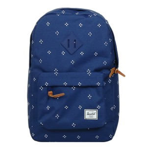 Vacances Noel 2019 | Herschel Sac à dos Heritage Mid Volume focus/twilight blue rubber vente