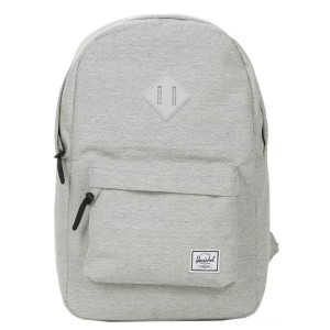 Herschel Sac à dos Heritage Mid Volume light grey crosshatch vente
