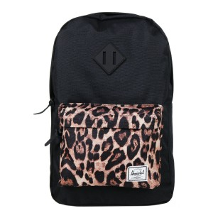 Black Friday 2020 | Herschel Sac à dos Heritage Mid Volume black/desert cheetah vente