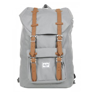 Vacances Noel 2019 | Herschel Sac à dos Little America Mid Volume grey/tan vente