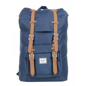 Vacances Noel 2019 | Herschel Sac à dos Little America Mid Volume navy/tan vente