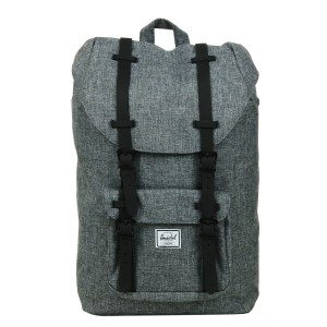Herschel Sac à dos Little America Mid Volume raven crosshatch/black rubber vente