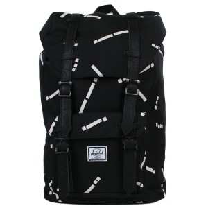 Black Friday 2020 | Herschel Sac à dos Little America Mid Volume black code/black vente