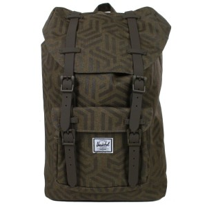Herschel Sac à dos Little America Mid Volume metric/black rubber vente