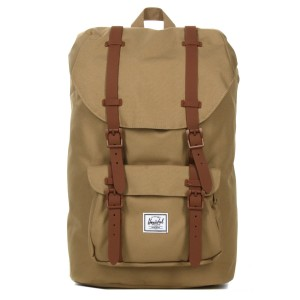 Herschel Sac à dos Little America Mid Volume kelp/saddle brown vente