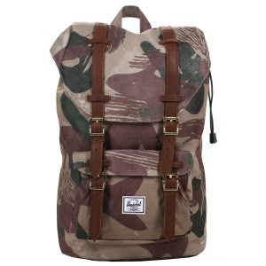 Black Friday 2020 | Herschel Sac à dos Little America Mid Volume brushstroke camo vente
