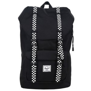 Black Friday 2020 | Herschel Sac à dos Little America Mid Volume black/checkerboard vente