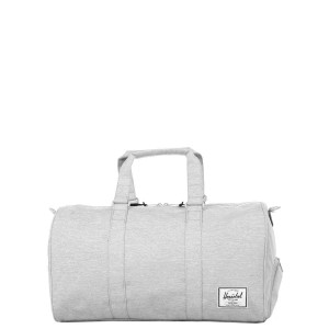 Vacances Noel 2019 | Herschel Sac de voyage Novel 52 cm light grey crosshatch vente