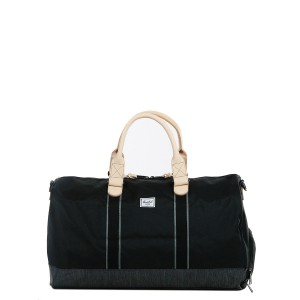 Vacances Noel 2019 | Herschel Sac de voyage Novel Offset 52 cm black/black denim vente