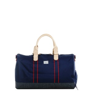 Vacances Noel 2019 | Herschel Sac de voyage Novel Offset 52 cm peacoat/dark denim vente