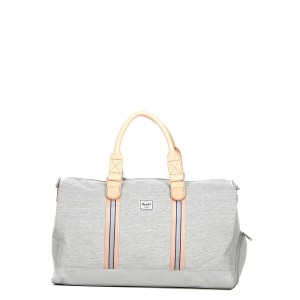 Herschel Sac de voyage Novel Offset 52 cm light grey crosshatch/high rise vente
