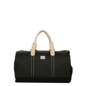 Herschel Sac de voyage Novel Offset 52 cm black crosshatch/black vente