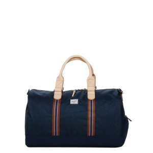 Herschel Sac de voyage Novel Offset 52 cm medieval blue crosshatch/medieval blue vente