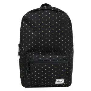 Black Friday 2020 | Herschel Sac à dos Settlement Mid Volume black gridlock gold vente