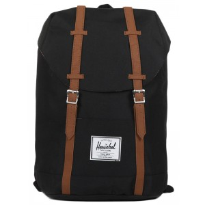 Black Friday 2020 | Herschel Sac à dos Retreat black/tan vente