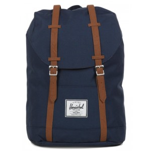 Vacances Noel 2019 | Herschel Sac à dos Retreat navy/tan vente