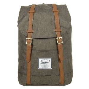 Herschel Sac à dos Retreat canteen crosshatch/tan vente