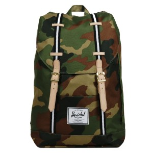 Black Friday 2020 | Herschel Sac à dos Retreat Offset woodland camo/black/white vente