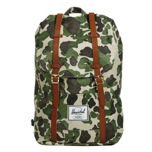 Herschel Sac à dos Retreat frog camo/tan synthetic leather vente