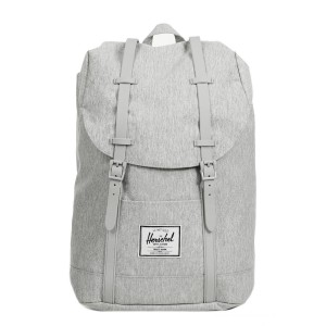 Herschel Sac à dos Retreat light grey crosshatch vente