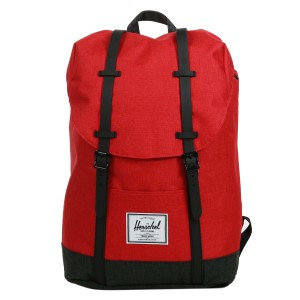 Herschel Sac à dos Retreat barbados cherry crosshatch/black crosshatch vente