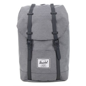 Vacances Noel 2019 | Herschel Sac à dos Retreat mid grey crosshatch vente
