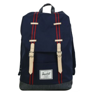Herschel Sac à dos Retreat Offset peacoat/dark denim vente