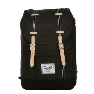 Herschel Sac à dos Retreat Offset black crosshatch/black vente