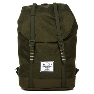 Herschel Sac à dos Retreat olive night crosshatch/olive night vente