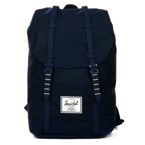 Vacances Noel 2019 | Herschel Sac à dos Retreat medievel blue crosshatch/medievel blue vente