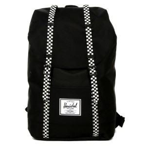 Vacances Noel 2019 | Herschel Sac à dos Retreat black/checkerboard vente