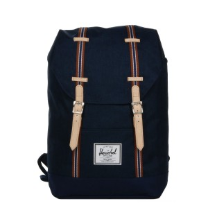 Black Friday 2020 | Herschel Sac à dos Retreat Offset medieval blue crosshatch/medieval blue vente