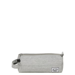 Herschel Trousse Settlement Case light grey crosshatch vente