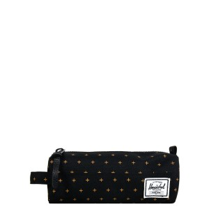 Vacances Noel 2019 | Herschel Trousse Settlement Case black gridlock gold vente