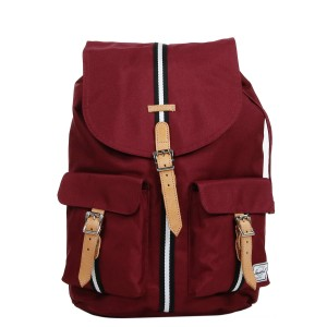 Herschel Sac à dos Dawson Offset windsor wine/veggie tan leather vente