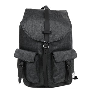 Black Friday 2020 | Herschel Sac à dos Dawson black crosshatch/black rubber vente