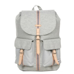 Herschel Sac à dos Dawson Offset light grey crosshatch/high rise vente