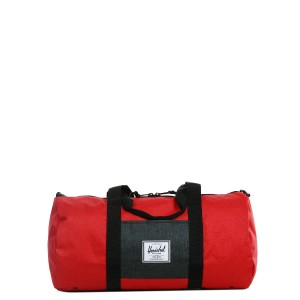 Vacances Noel 2019 | Herschel Sac de voyage Sutton Mid Volume 47.5 cm barbados cherry crosshatch/black crosshatch vente