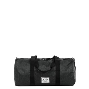 Vacances Noel 2019 | Herschel Sac de voyage Sutton Mid Volume 47.5 cm black crosshatch/black rubber vente