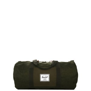 Black Friday 2020 | Herschel Sac de voyage Sutton Mid Volume 47.5 cm olive night crosshatch/olive night vente