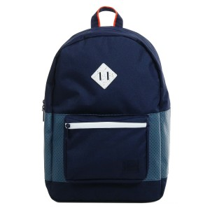 Vacances Noel 2019 | Herschel Sac à dos Ruskin Aspect peacoat/navy/vermillion orange vente