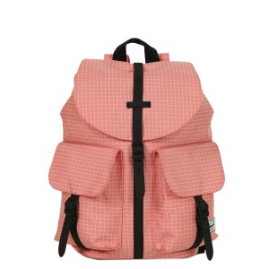Herschel Sac à dos Dawson X-Small strawberry ice grid/black rubber vente