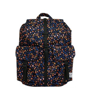 Vacances Noel 2019 | Herschel Sac à dos Dawson X-Small black mini floral/black synthetic leather vente