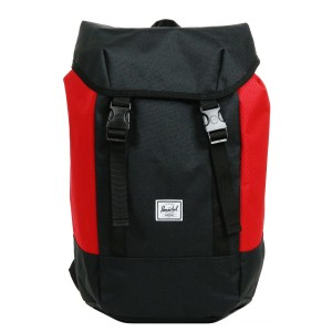 Black Friday 2020 | Herschel Sac à dos Iona black/scarlet vente