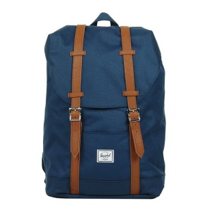 Herschel Sac à dos Retreat Mid-Volume navy/tan vente