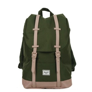 Vacances Noel 2019 | Herschel Sac à dos Retreat Mid-Volume forest night/ash rose vente