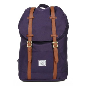 Herschel Sac à dos Retreat Mid-Volume purple velvet vente