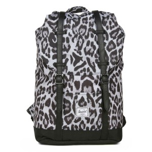 Herschel Sac à dos Retreat Mid-Volume snow leopard/ black vente